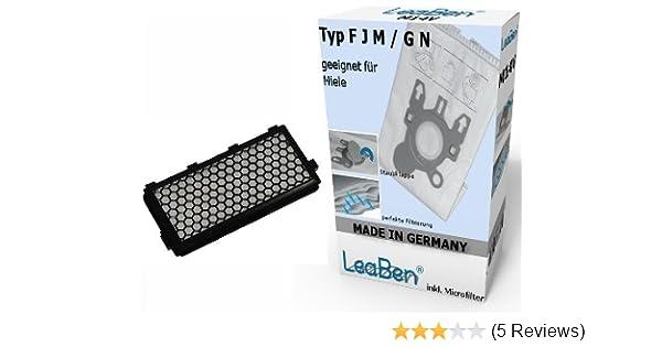 4 Staubsaugerbeutel Miele GN HyClean 3D für Miele S 5260