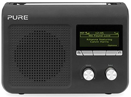 Pure VL-61868 One Flow Internet-Radio (DAB/DAB+/UKW-Radio, W-LAN) schwarz