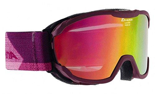 Alpina DRIBER-Occhiali da sci Pheos Jr. mm, Bambini, Pheos JR. MM, Deepviolet