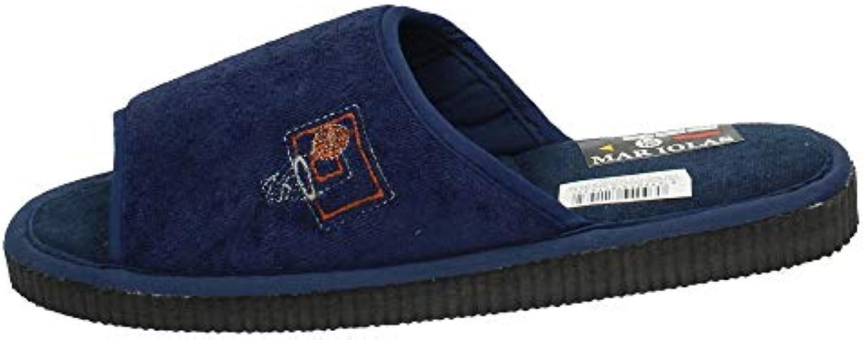 Made IN Spain 303-740 Chinelas Azules Hombre Zapatillas CASA -
