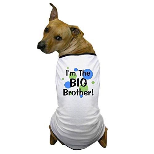 2 Humor Kleinkind T-shirt (CafePress-I 'm The Big Brother. Hunde-T-Shirt-Hund T-Shirt, Haustier Kleidung, Funny Hund Kostüm)