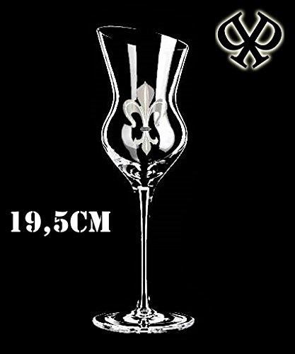 Grappagläser 4er Luxus-Set Branntwein-Gläser für Obstler-Williams Schnaps & Liköre| Schnapsgläser Obstbrandgläser Kristall-glas| geschrägter Rand| Grappa-gläser