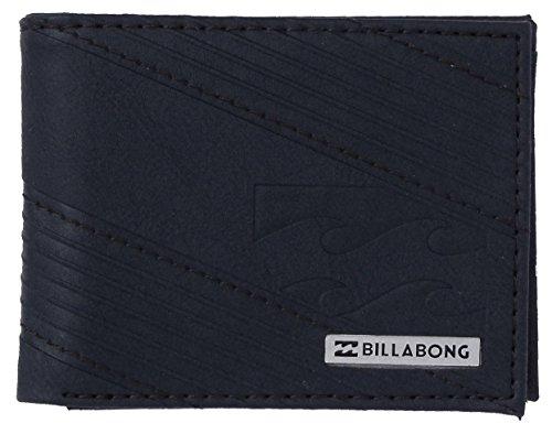 Billabong Münzbörse, schwarz (mehrfarbig) - C5WM05 (Geprägtes Wallet Leder Tri-fold)