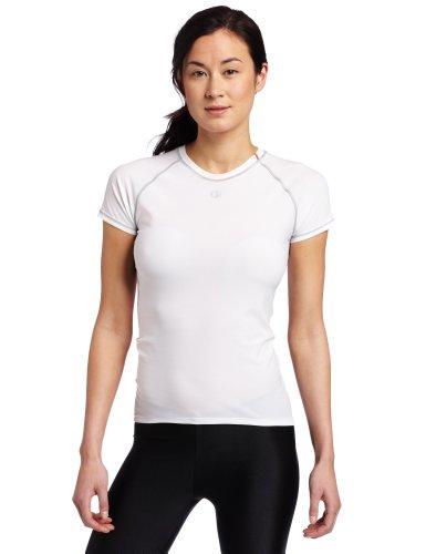 Pearl Izumi Damen kurzärmliges Unterhemd Transfer Lite Baselayer, white, XL, P14221101508