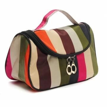 Atoz Prime Zebra Stripe Makeup Cosmetic Case Storage Travel Bag - B07953TGN2