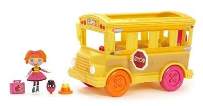 MGA Entertainment 506768E4C - El bus escolar de Lalaloopsy Bea (incluye 1 figura de 7,5 cm) [importado de Alemania] por MGA Entertainment/Mini Lalaloopsy(TM)