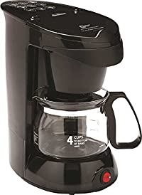 Sunbeam 883041 Coffee Maker 4 Cup, Black