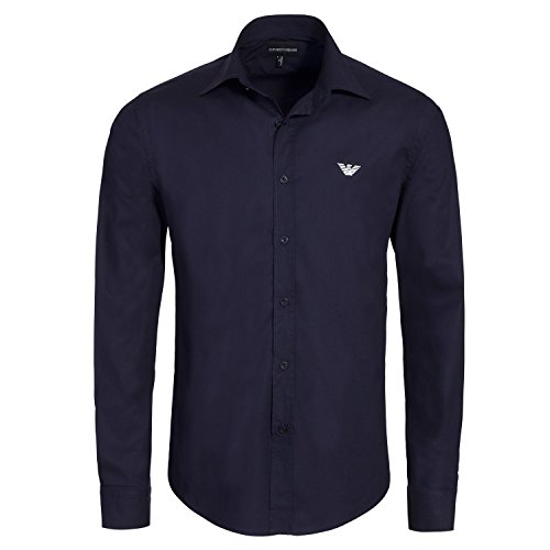 emporio-armani-mens-slim-fit-navy-shirt-blue-x-large