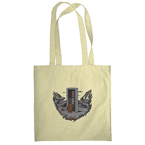 Texlab–Donkey Odyssey–sacchetto di stoffa Naturale