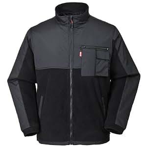 COX SWAIN Fleece Jacket WORK, Farbe: Black, Größe: XL