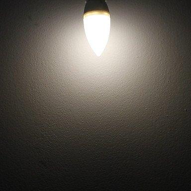 FDH 3W E14 Luces de velas LED 15 SMD2835 200 lm Blanco cálido de 85-265 V CA 5 PC