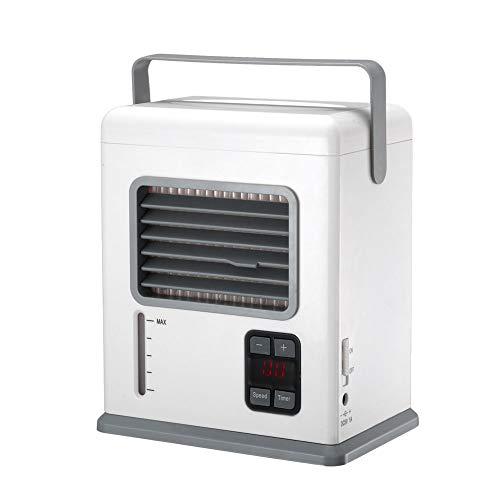 Chihen Condizionatori Raffreddatori evaporativi Climatizzatore portatile Raffreddatore d'aria personale Ventilatore ad aria Mini Ventilatore elettrico USB Ventilatore per il desktop dell'aria condizio