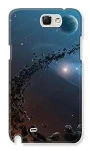 KolorEdge Back cover for Samsung Note 2 - Multicolor
