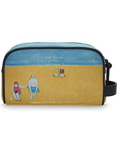 TED BAKER Wash Bag Ron Beach Scene Neoprene RRP £55 TE 170