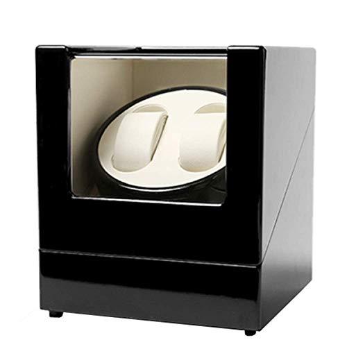 GUOOK GUOOK Luxusuhren Automatik Uhrenbeweger Square Double Box 2 Power Methoden Geringer Stromverbrauch Leiser Betrieb Langlebig