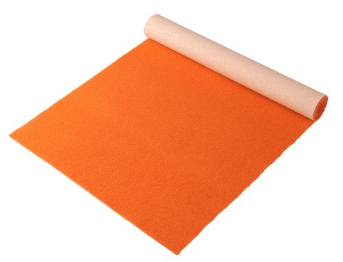 "Bausinger Yogamatte ""Lite"", Florhöhe 5mm, 80×200 cm, orange"