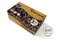 ORIGAMI Luxuria 3 Ply Face Tissue - 300 Sheets (100 Pulls Each, Pack of 4)