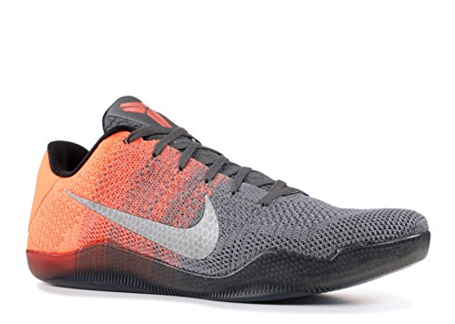 finest selection 009d0 d27fd Nike Kobe XI Elite Low, Zapatillas de Baloncesto para Hombre, GrisVerde