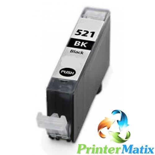 Canon CLI-521BK NERO Pixma MP620/630/638/640/980 CARTUCCE COMPATIBILI Confezione da