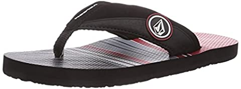 Volcom Boys' Vocation Creedlers By Flip Flop Sandles Red Size: 2.5