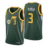 SEL Camiseta Ricky Rubio Utah Jazz Verde,Camiseta Swingman,Camiseta Deportiva,Camiseta Statement edición (Verde, XL)