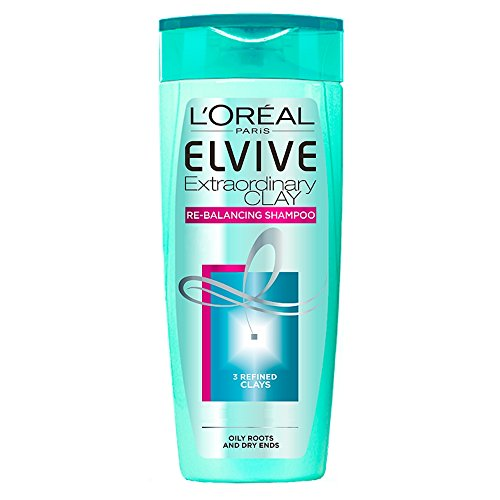 L'Oreal Paris Elvive Extraordinary Clay Re-Balancing Shampoo 400ml