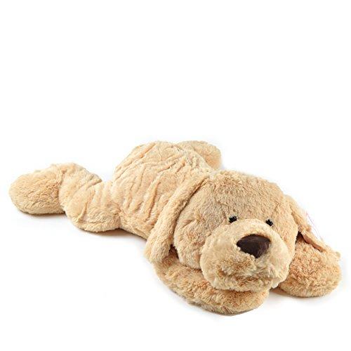 Lucy, 100cm XXL Plüsch-Hund in hellbraun, Stoff-Hund, XXL-Plüsch-Hund zum Liebhaben von Pink Papaya Toys (Plüsch Hund)