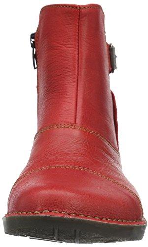 art Bergen, Bottes Classiques Femme Rouge - Rot (Carmin)