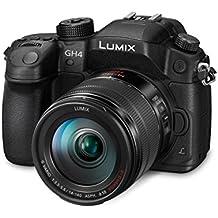 Panasonic LUMIX G DMC-GH4HEG-K Systemkamera (16 Megapixel, OLED Touchscreen, Staub-/Spritzwasserschutz, Utraschneller Autofokus) mit Objektiv H-FS14140E schwarz