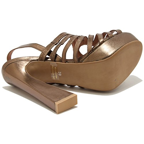 78262 sandalo JEFFREY CAMPBELL VERBINA scarpa donna shoes women Bronzo