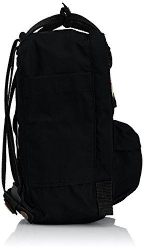 Fjällräven Alltagsrucksack Kånken Mini, Borsa tote donna Giallo Giallo caldo 29 cm Black