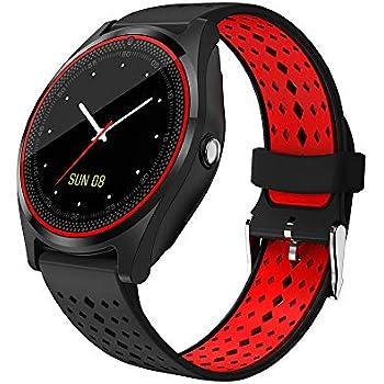 Gyfdjh Smartwatch, Reloj Inteligente Android con Ranura para Tarjeta SIM,Pulsera Actividad Inteligente para Deporte, Reloj Iinteligente Hombre Mujer ...