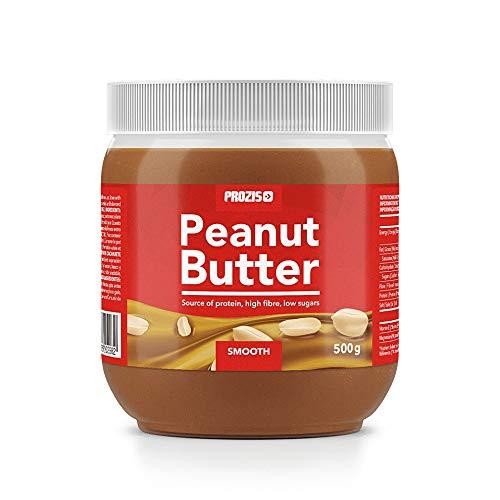 Prozis Foods Crema de Cacahuete, Sabor Cremoso - 500 gramos