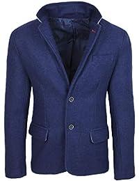 Abbigliamento Giacche Uomo 4121317031 Lana Amazon Di it YxFS0S