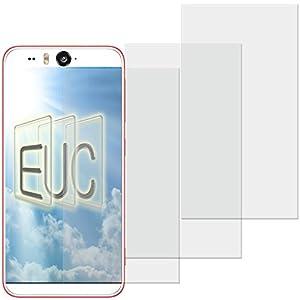 3 x Displayschutzfolie matt/entspiegelnd für HTC Desire Eye Teilfolie