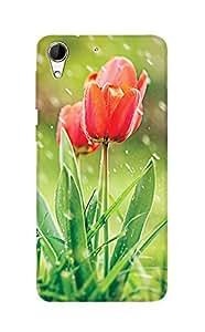 ZAPCASE PRINTED BACK COVER FOR HTC 728/HTC 728G Multicolor