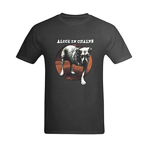 LittleArt Men's Alice In Chains Cover T-Shirt Medium