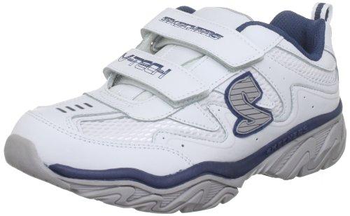 Skechers Ragged Dox, Sneakers Basses Garçon Blanc (white)