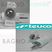 TEUCO Repuesto Rueda rieles Superior 81079501 diámetro 21 7ee926593e54