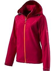 McKinley Clarksville chaqueta softshell para mujer - 42, rojo