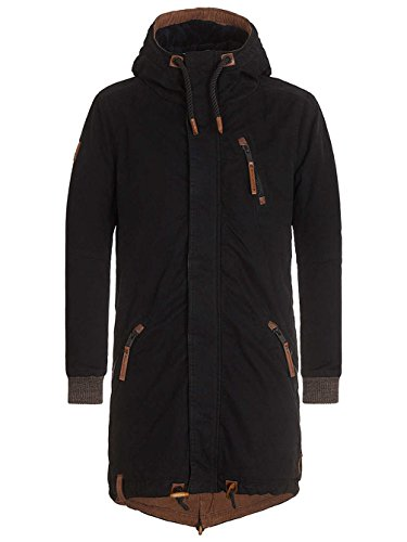 Naketano Male Jacket Menelik II Black