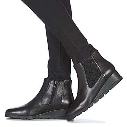 Stonefly Milly 19 Ankle Boots/Boots Women Black Ankle Boots 8