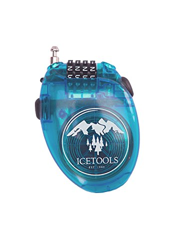 IceTools Mr. Lock Zahlenschloss-Blue - by Surferworld
