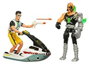 Hasbro - 14181480 - Action Man - Figurine Action Man - Lot Action man - Orca Sea Jet & Dr X