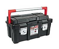 Tayg - Caja herramienta plastico aluminio 550-b 550x300x275 negro