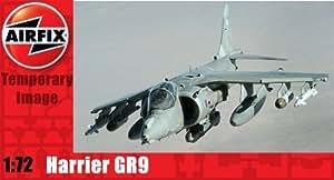 Airfix A04050 BAe Harrier GR9 1:72 Scale Series 4 Plastic Model Kit by Airfix Modern Military Aircraft