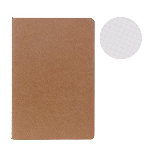 Wanfor 1 Stück Tagebuch Kraftpapier, Skizzenbuch für Kind Geschenk, Schulbedarf (5)