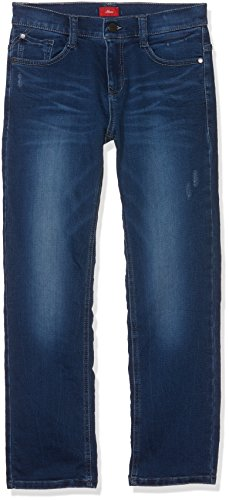 s.Oliver Jungen Jeans 61.709.71.3002 Blau (Blue Denim 56Z7), 140 (Herstellergröße: 140/REG)