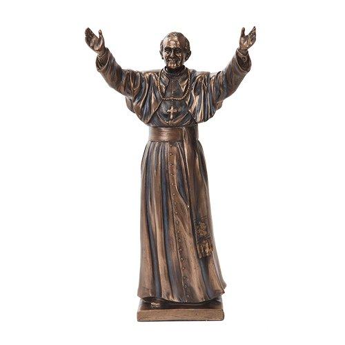 pope-john-paul-ii-figurine-bronze-color-statue-el-papa-juan-pablo-ii