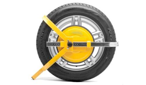 Parkkralle / Autokralle - 13, 14 und 15 Zoll - Diebstahlsicherung für PKW und Anhänger Anhänger-felgen 15 Zoll